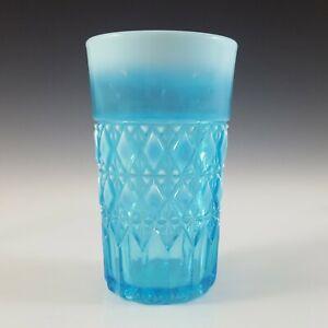 Davidson Blue Pearline Glass 'Prince William' Tumbler