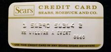 Sears Roebuck and Co. Credit card ♡Free Shipping♡cc293♡ Princess Size