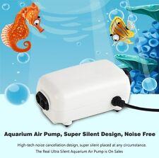 Aquarium Oxygen Air Pump 2 Outlet High Quality Adjustable Aerator 1yr Wty AU Std