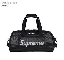 Supreme FW17 Duffle Bag Black White 100D Cordura 3M Reflective Nylon Palace bogo