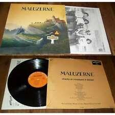 MALUZERNE - Same LP French Folk Chant Du Monde W/Insert