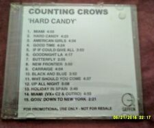 COUNTING CROWS-HARD CANDY 15 TRK  PROMO CD SEALED/NEW