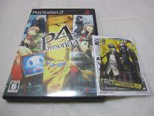 7-14 Days to USA Airmail. W/Bonus Card PS2 Persona 4 Japanese Version ATLUS