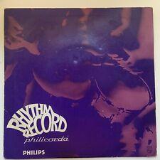 PHILICORDA RHYTHM RECORD - DUTCH PHILIPS 7in.QUICKSTEP,FOXTROT,CHA CHA CHA,TANGO