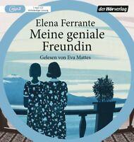 ELENA FERRANTE - MEINE GENIALE FREUNDIN - EVA MATTES   MP3 CD NEW