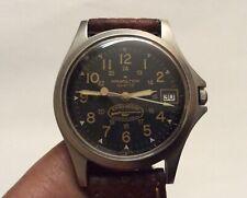 Estate Vintage Hamilton 9931 Quartz Remington Black Dial Men's Watch