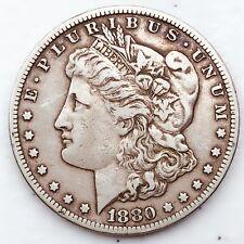 1880-CC CARSON CITY MORGAN SILVER DOLLAR! VERY RARE COIN! WOW! #SK776