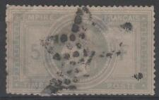 """FRANCE STAMP TIMBRE N° 33 """" NAPOLEON III 5F VIOLET GRIS """" OBLITERE A VOIR  K494"""