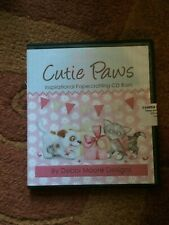 DEBBIE MOORE DESIGNS CUTIE PAWS INSPIRATIONAL PAPERCRAFTING CD-ROM