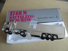NZG 313 mercedes-benz incompletos 1748 s camiones plata Chrome 1/43 OVP