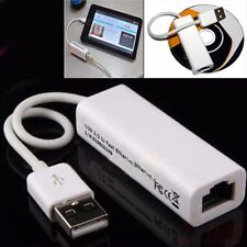 USB 2.0 Lan Adapter to RJ45 Ethernet Network Card 10/100Mbps for PC Laptop UK HQ