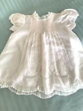 New listing Vintage Feltman Bros. Pale Pink Batiste Baby Dress ~ New Condition