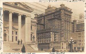 H72/ Vancouver B.C. Canada RPPC Postcard c1910 Court House & Hotel  85