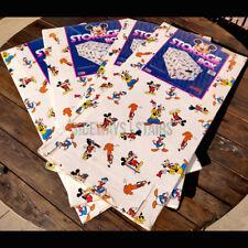 VINTAGE DISNEY STORAGE BOX & LID 4 Cardboard Boxes mickey minnie rare 80s 90s