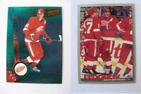1995-96 Collector's Choice #148 Fedorov Sergei  players club  wings