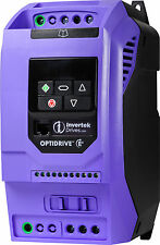 Invertek Motor Inverter IP20 2.2kW 1 phase in, 3 phase out ODE-3-220105-1F42