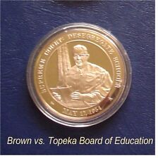 1954 - Supreme Court: Desegregate Schools  - Solid Bronze Medal