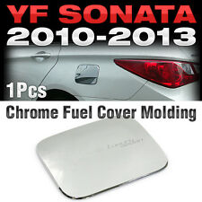 Chrome Fuel Cover Cas Cap Garnish Molding B313 For HYUNDAI 2011 - 2014 YF Sonata