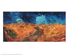 """Wheatfield with Crows, 1890"" by Vincent van Gogh  - Fine Art Print 24 x 30"