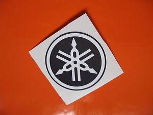 YAMAHA tuning fork decal/sticker x4