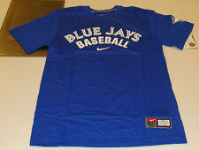 2013 Logo Toronto Blue Jays XL Practice T Tee Shirt Blue MLB Baseball
