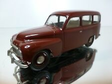 SOMERVILLE 128 VOLVO 210 DUETT 1960 - BROWN 1:43 - EXCELLENT CONDITION - 2/3