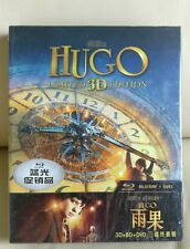 Hugo 2D+3D Blu-ray Digipack (NOT Steelbook) , China version, Mint/Sealed