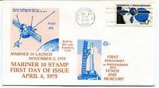 1975 Mariner 10 First Issue Spacecreft Photographs Venus Mercury NASA JPL SAT