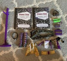 Monster High Clawdeen Wolf Clawd Wolf Accessories Clothes/Shoes/Diary 1st Wave