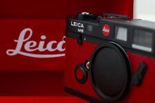 LEICA M6 ROYA Royal Foto Austria 1968-1993 101 limited Red leather Film Camera