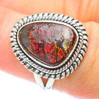 Ammolite 925 Sterling Silver Ring Size 7.25 Ana Co Jewelry R56254F