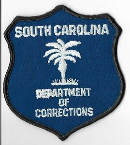 South Carolina Department of Corrections Shoulder Patch