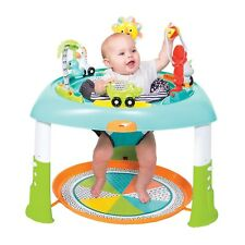 Baby Activity Table Seat Toy Sit Stand Spin Boy Girl Music Light Up Gift New