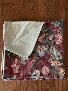 Country Curtains King Floral Duvet , 2 Shams,4 Side Panel curtains, 2 -3 Piece V