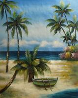 LMOP151 100% hand-painted landscape ocean seascape art OIL PAINTING on CANVAS