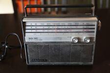 CANDLE 3 MULTI BAND 12 TRANSISTOR Shortwave RADIO Vintage AM/SW/FM 1960s