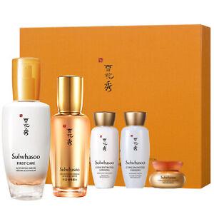 Sulwhasoo Ginseng Serum Anti-aging Duo Activating Skin Elasticity Renewing Set