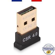 2 x Mini Clé USB Adaptateur Transmetteur Bluetooth V4.0 Dongle ordinateur PC