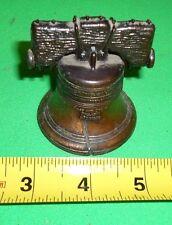 PennCraft Liberty Bell Penn Craft Die Cast Miniature Dollhouse Metal Lot of 2