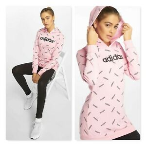 Adidas | Womens Core Printed Pullover Hoodie NEW [ Size S or AU 10 / US 6 ]