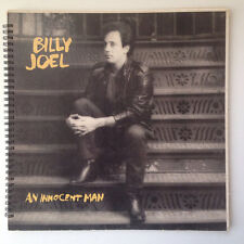 for the Billy Joel - An Innocent Man Fan vintage Album Cover Notebook 80's gem