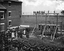 New 8x10 Photo: Hanged Bodies of the Lincoln Conspirators after Execution - 1865