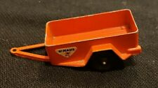 Vintage Tootsietoy Chicago Die Cast U Haul Trailer