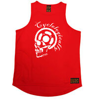 Ride Like The Wind Bicycle Circle Kaleidoscope Cycling funnyáBirthdayáTANK TOP