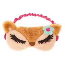 Deer Sleep Mask Fuzzy Furry Soft Sleep Aid Plush Sleeping Mask Sleeping Aid New