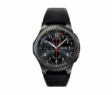 New/Other Samsung Galaxy Gear S3 frontier 46mm Stainless Steel Case Black