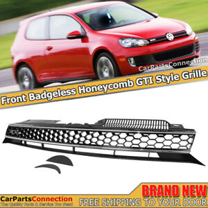 2010-2014 MK6 Golf GTI HB Front Radiator Grille GTI Style Badgeless