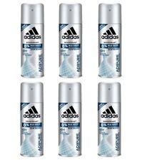 6pz ADIDAS ADIPURE deodorante corpo spray 150ml uomo deo body for men NUOVO