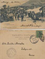 Postal Leitariegos (León-Asturias). Feria en Valladolid. Mayo 1902. B. Num. 7.