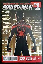 MILES MORALES ULTIMATE SPIDER-MAN #1 (2014 MARVEL) *HTF* NM